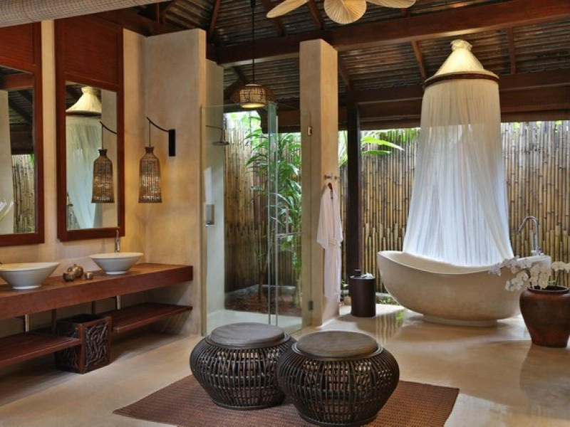 Anantara Rasananda Koh Phangan Villas-Ocean_Pool_Villa_bathroom