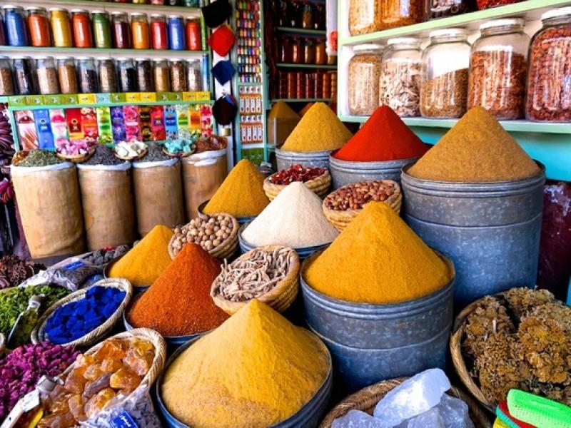 La-Sultana-Marrakech souq-0