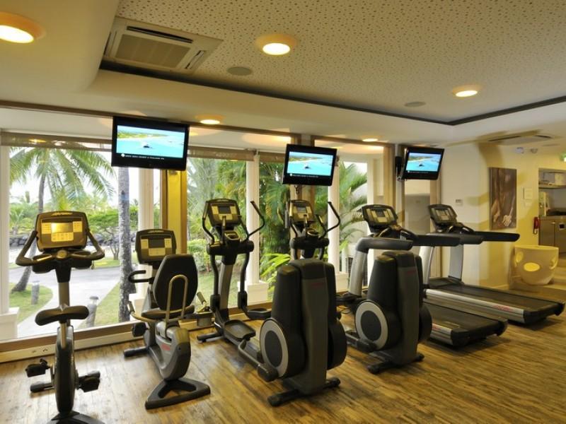PPT Intercontinental Tahiti Gym