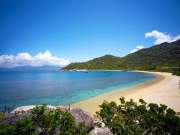 Six Senses Hideaway Ninh Van Bay Beach4