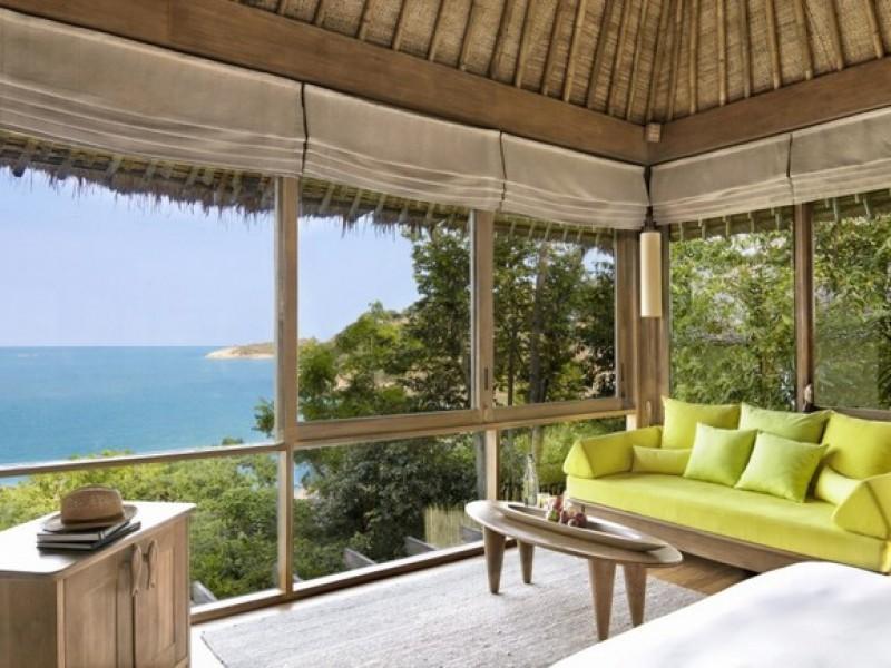 Six Senses Samui Ocean_View_Pool_Villa_interior_